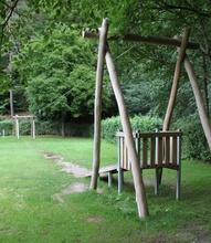 Seilbahn mit Rampe 30m