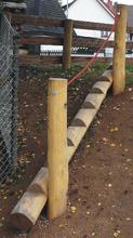 Stammtreppe 3m mit Seilhandlauf