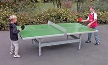 Tischtennisplatte Pause