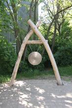 Klangtor mit Gong