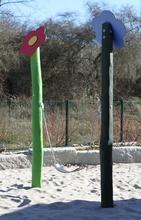 Blumen-Bauch-Schaukel