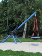 Reifenpendel mit Mini-Nestkorb Ø90cm