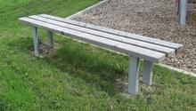 Sitzbank Speyer ohne Lehne