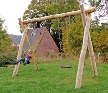 Schaukel 2-fach LH250cm, 1 Kleinkind-Schaukelsitz