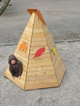 Tipi Sioux klein