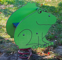Wippgerät Frosch Fridolin