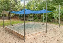 Sandkasten 3-lagig, 4x4m