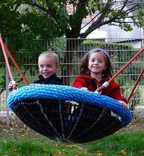 Mini-Nestkorb Ø90cm