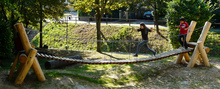 Gelände-Hängebrücke 7m